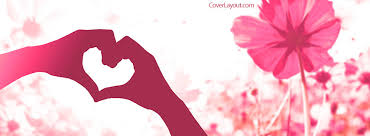 hand heart facebook cover