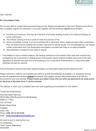 Download Sample Doctors Note For Travel Claim Cancellation Form