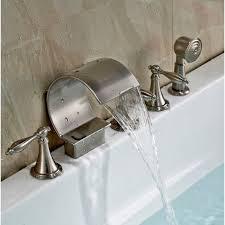 handheld shower head for bathtub faucet