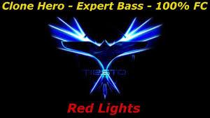 Youtube Tiesto Red Lights Clone Hero Tiesto Red Lights Expert Bass 100 Fc