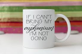euphonium player gift euphonium gifts euphonium student gift for euphonium player teacher gift student funny coffee mug tea cup by