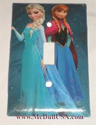 Frozen Light Switch Cover Frozen Elsa Anna Toggle Light Switch Plate Single