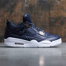jordan 4 retro. air jordan 4 retro pinnacle premium men (navy / obsidian obsidian-white) jordan retro