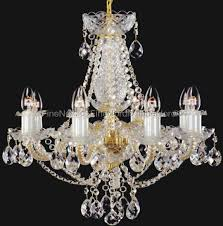 Elite Bohemia Kristall Kronleuchter Mit Acht Armen Silber Finish Swarovski Kristall