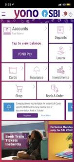 yono sbi banking and lifestyle on the