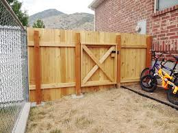 picture of build a wooden fence and gate