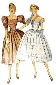 1950s Dress Patterns Awesome Simplicity 48 Party Dress Or Bridesmaid Dress Vintage Pattern