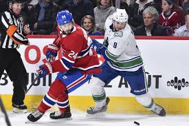 The canadiens are called 'the habs' because it's short for les habitants , which is what many french supporters of the team believe the h in the middle of the logo to stand for. Canadiens Vs Canucks Game Thread Rosters Lines And How To Watch Eyes On The Prize