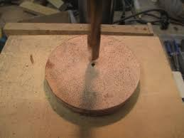 picture of finishing the wheel