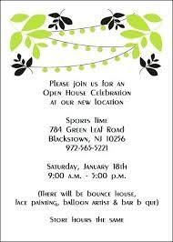 Formal Business Invitation Wording Grand Opening Invitation Sample Orgullolgbt