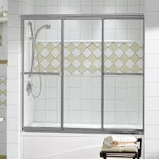 Maax 138400 MAAX Triple Plus 3 Panel 59.5 x 56 Tub Door | Lowe's ...