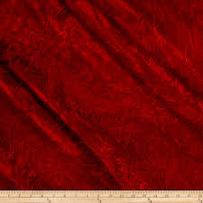 crushed red velvet texture. Fine Velvet Zoom Alpine Crushed Velvet Red With Texture E