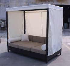 Daybed Sofa with Canopy