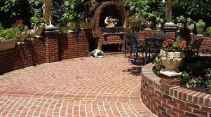 Small Picture brick walled patio Patio Design That Leverages Brick This is a