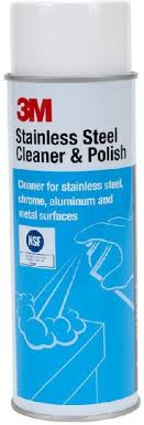 3M Blazon Stainless Steel Cleaner and polish Electrical Cleaning Spray.  Share