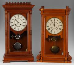 2 seth thomas shelf clocks