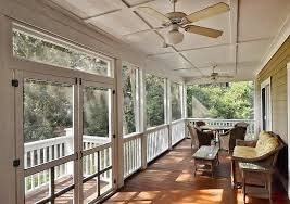 Traditional Porch with Covered porch, Screened porch
