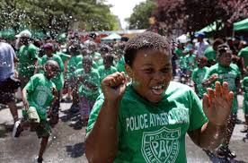 strategies for coping extremely hot weather children run through an open fire hydrant to cool off during the kickoff of the 2016 summer playstreets program in the harlem neighborhood of new york