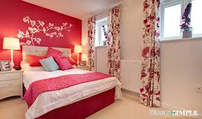 Romantic bedroom designs Modern Bedroom With Rose Motifs And Colours Kaodim 10 Most Romantic Bedroom Designs For Couples