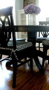 dining room chair cushion slipcover tutorial living in the rain garden