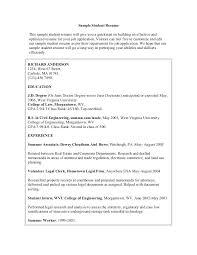 Engineering Student Resume Sample Electrical Engineer Resume Sample