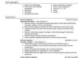 Best Software Engineer Resumes Software Engineer Resume Template Software Engineer Resume Samples