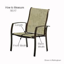 chair swivel 2 piece sling hampton bay