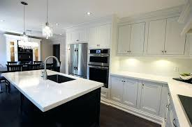 off white kitchens. Transitional Style Kitchen Custom Made Solid Wood Painted Off White Cabinets And Stained Island Kitchens
