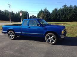 1992 Chevrolet S10 restoration project with 2013 Camaro SS Wheels ...