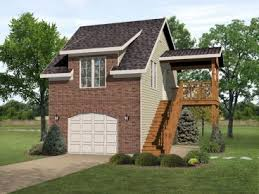 Garage Apartment Plans  Garage Apartment Plan Doubles As Vacation Apartment Garages