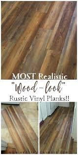 rustic vinyl plank flooring farmhouse most realistic wood look pine rustic vinyl plank flooring