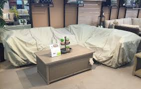 cheap patio furniture covers. Patio Furniture Protective Covers On Sectional Sofa In Williams Ski And  Showroom. Cheap Patio