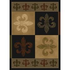 united weavers french quarter olive and beige 8 ft x 11 ft area rug