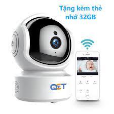 Phân Phối Camera giá rẻ tại Hà Nội - Giới thiệu camera IP QCT 1080P ✓Là camera  giám sát gia đình có thể xoay 360° của hãng QCT ✓Là phiên bản quốc