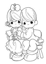 Small Picture Free Printable Precious Moments Coloring Pages For Kids