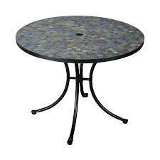home styles stone harbor 39 5 in w x 39 5 in l round steel dining
