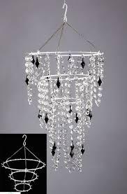 chandelier frame diy hanging make your own intended for prepare 1