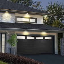 brown garage doors with windows. 3. Set A Budget Brown Garage Doors With Windows