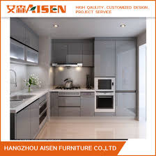 design for less furniture. Grey Lacquer Handle-Less Design Polyurethane Kitchen Furniture For Less