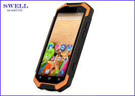indestructible smartphone. high resolution industrial cell phone android walkie talkie indestructible smartphone