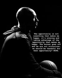 I'm motivated every single day by Kobe ...