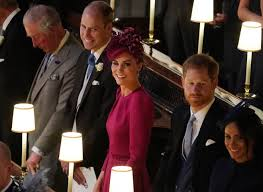 According to a new report, the duchess of sussex wanted to sport one with emeralds. Meghan Markle Prince Harry Rush Inside At Princess Eugenie S Wedding