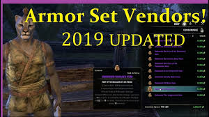 Cyrodiil S Light Eso Cyrodiil Armor Set Vendors 2019 Locations Armor Sets Lists