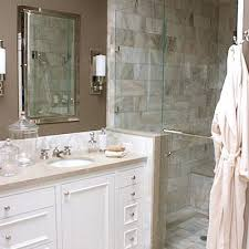 white bathroom cabinets with granite. white \u0026 taupe bathroom design with rich paint color, polished chrome beveled mirror and modern sconces, cabinets, granite counter tops, cabinets s