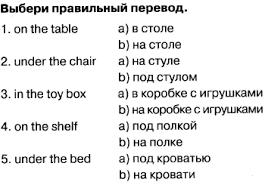 Контрольная работа по английскому языку к УМК Английский в Фокусе  А3 5 б