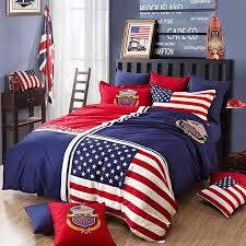 Wholesale 100% Cotton American England Flag Duvet Covet Set London