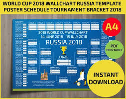 World Cup 2018 Wall Chart World Cup 2018 Wallchart Download Or Print Off Your