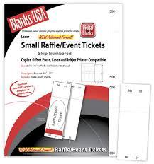Raffle Event Printable Raffle Tickets The Image Shop