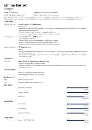Human Resources Resumes Human Resources Resume Sample Writing Guide 20 Examples