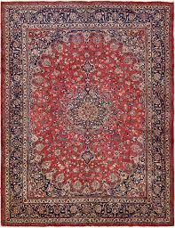 main unique loom 9 10 x 12 6 mashad persian rug photo